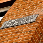 Kings Road Chelsea Sign