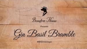 Gin Basil Bramble