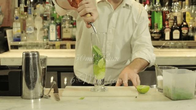 Spiced Pear Majito – The House Classic!
